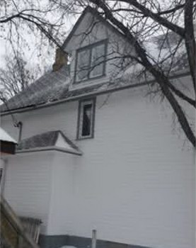 Painting Brandon MB Home Dormer