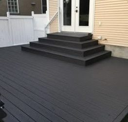 Calgary AB Deck Painting Project