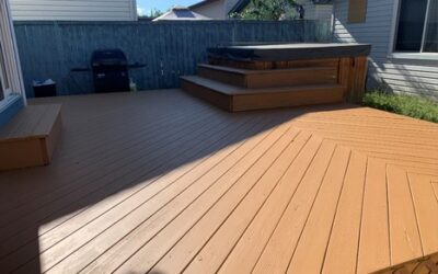 Deck Painting Project