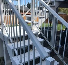 Paint Exterior Stairs