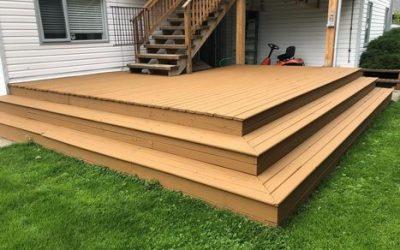 Kamloops Deck Painting Project