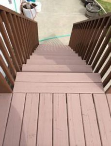 paint deck stairs
